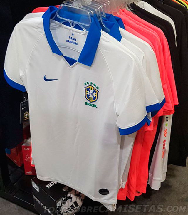 the best attitude c7585 16db7 Brazil to wear white jersey in Copa America for first time ...