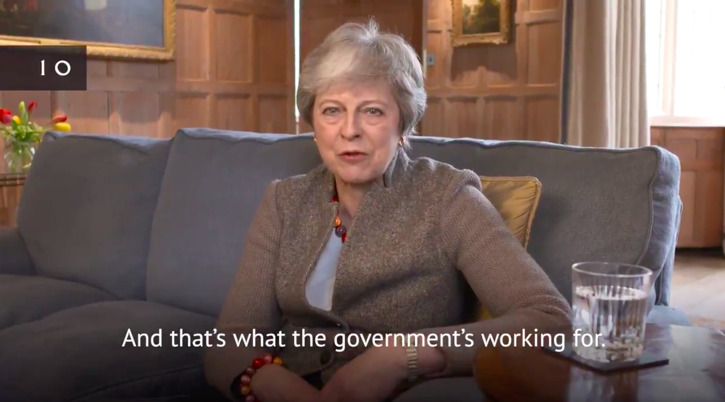Theresa May Posts Hilarious Satirical Video Explaining What Is