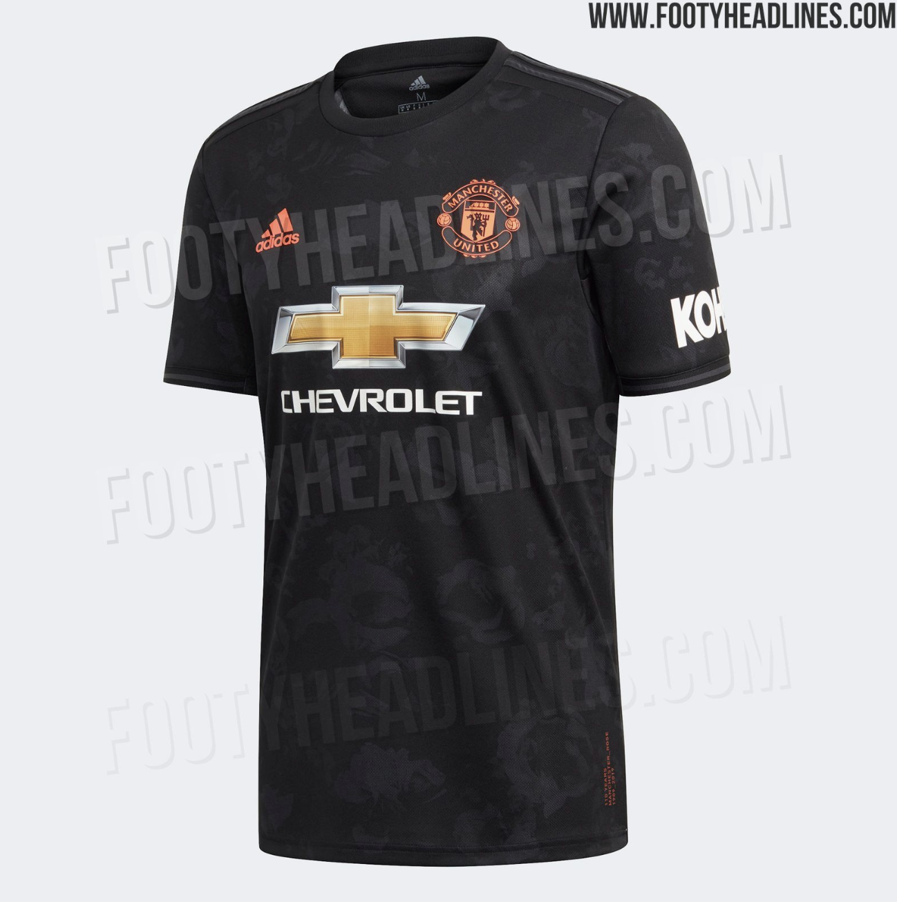 best loved aa70e 61fe8 Images of Manchester United's new jersey have been leaked ...