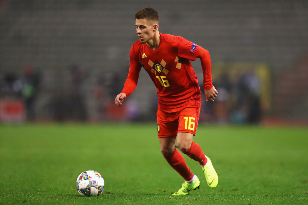 aa3a9dfd7ca Thorgan Hazard  Liverpool  outbid Borussia Dortmund  for the Belgian ...