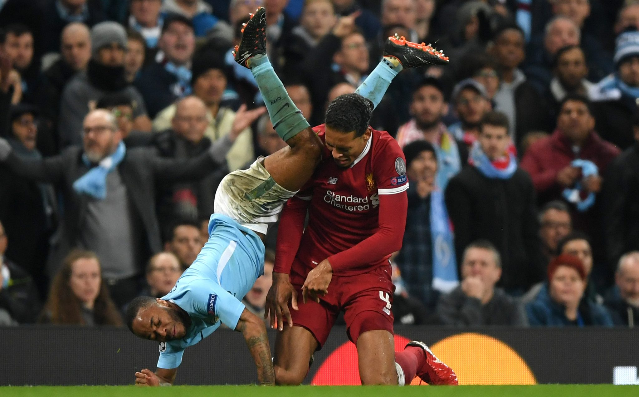 Sterling gets Van Dijk's vote for PFA player of the year