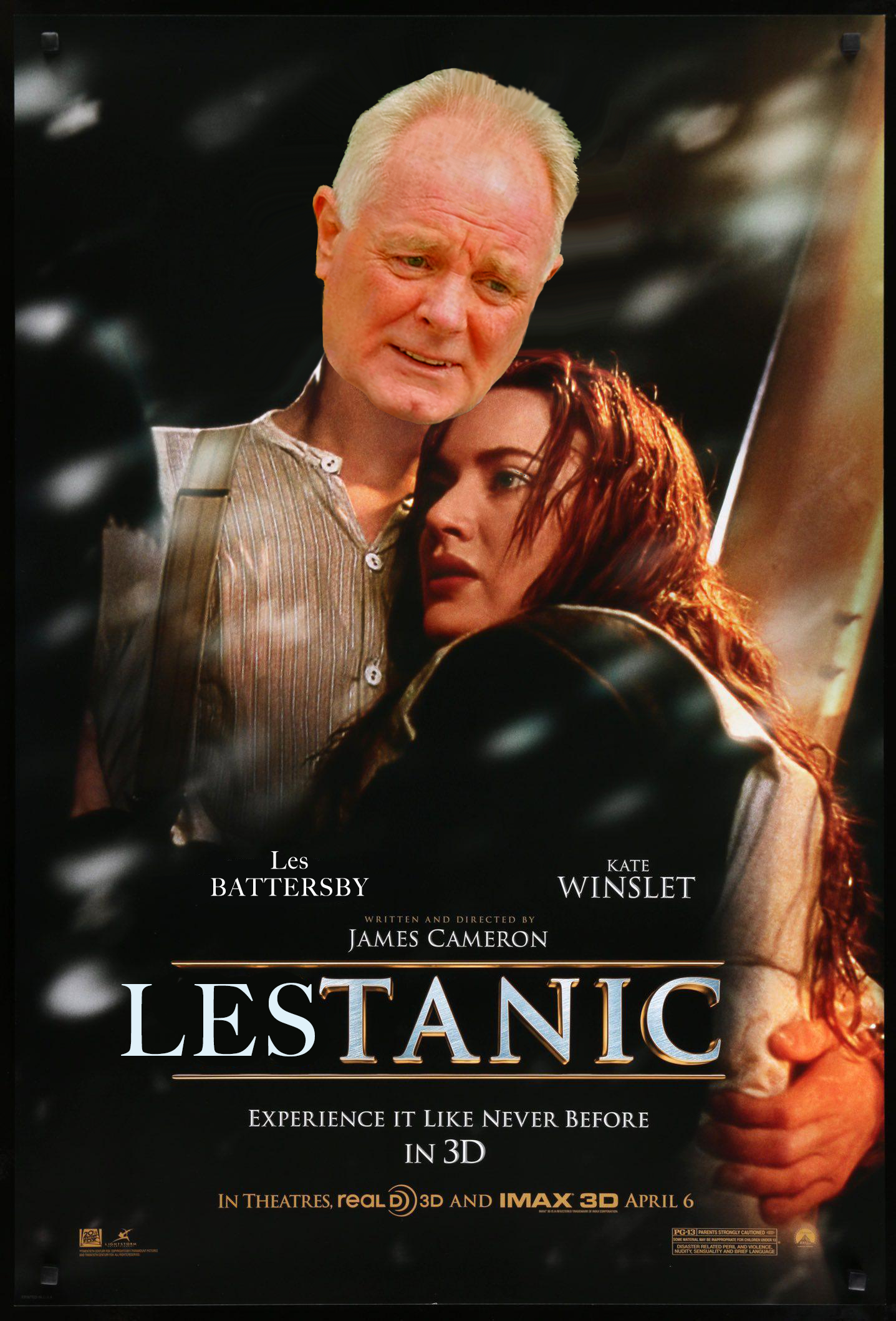 role lead titanic movies les battersby joe improved drastically putting