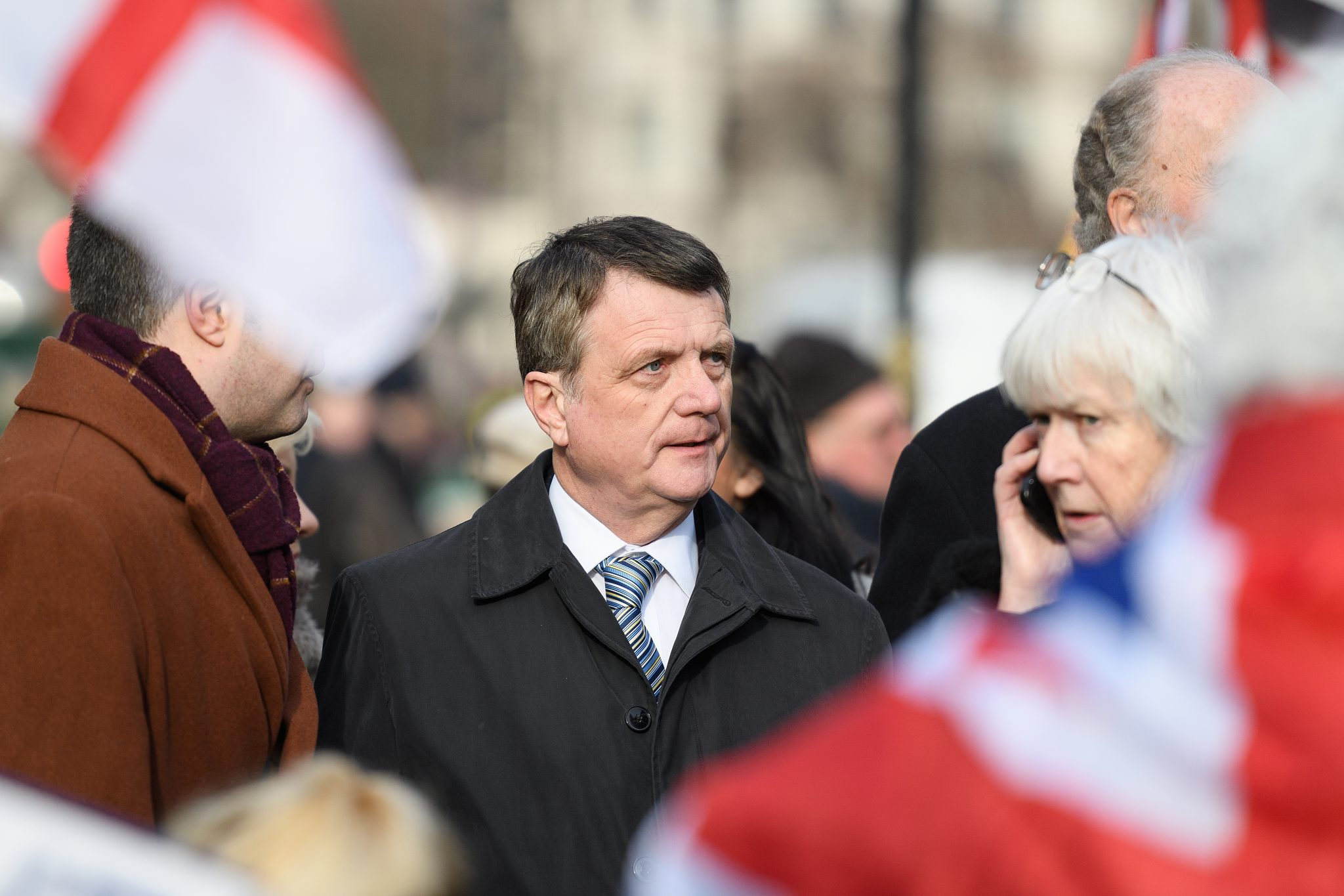 Gerard Batten has accused prime minister Theresa May of betraying the Brexit vote (Credit: Leon Neal)