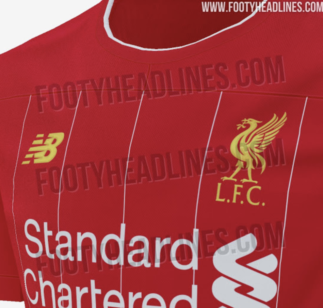 huge discount 5017f 10493 Pictures of Liverpool's next home shirt have been leaked ...