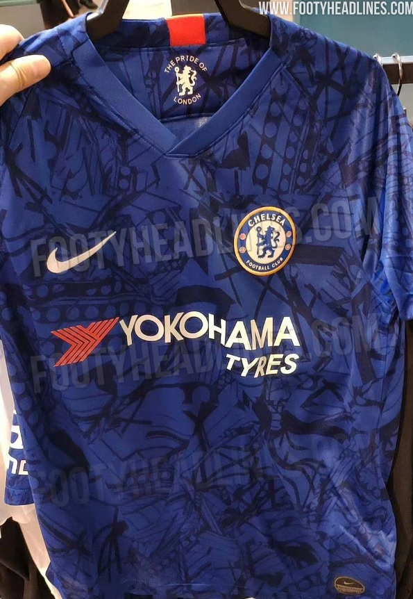 a88a1fad Chelsea 2019/20 home kit: Leaked images of Blues' new Nike strip for next  season