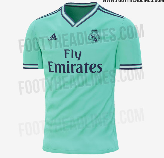 on sale 88885 e5b58 Real Madrid's new away kit has been leaked and it's bloody ...
