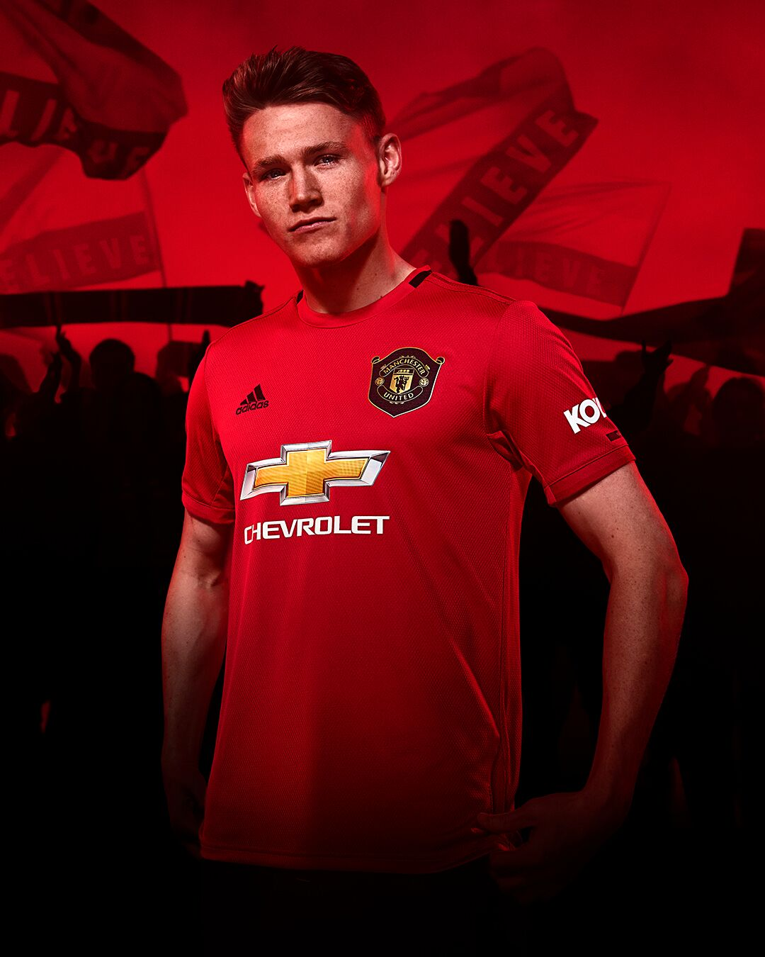 new manchester united 19 20 home shirt celebrating treble anniversary revealed joe co uk new manchester united 19 20 home shirt