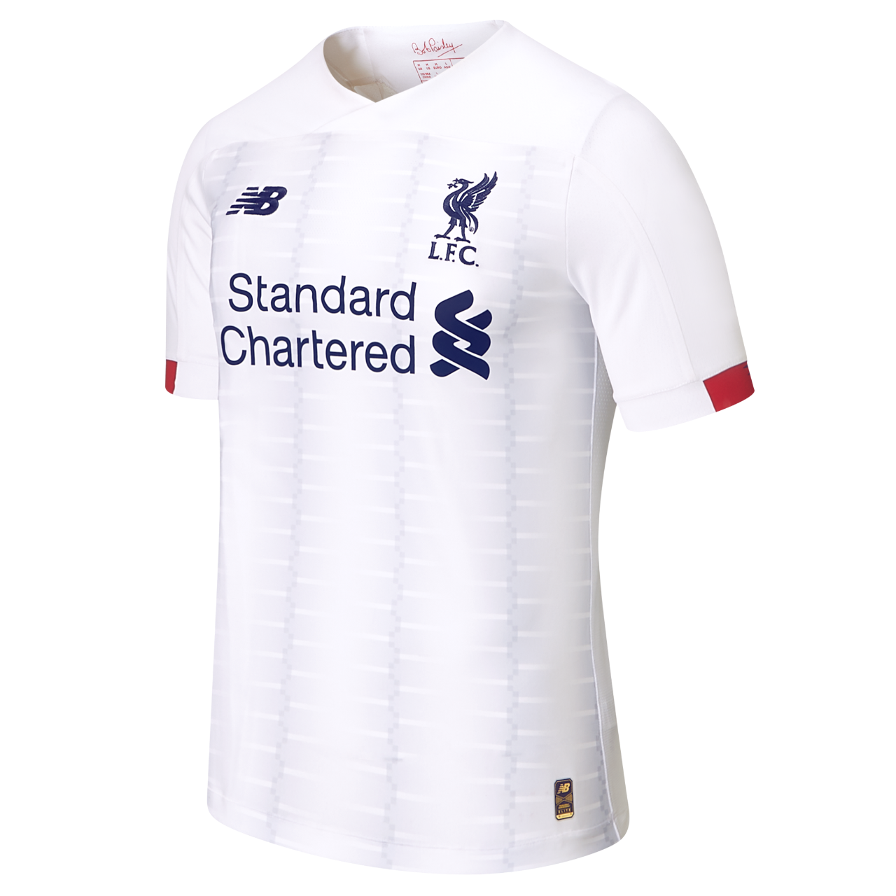release date 39371 7dbcf Liverpool unveil lovely new white away kit for 2019/20 ...