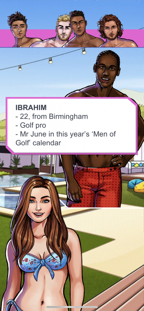 I played the Love Island simulation game and learned that God left