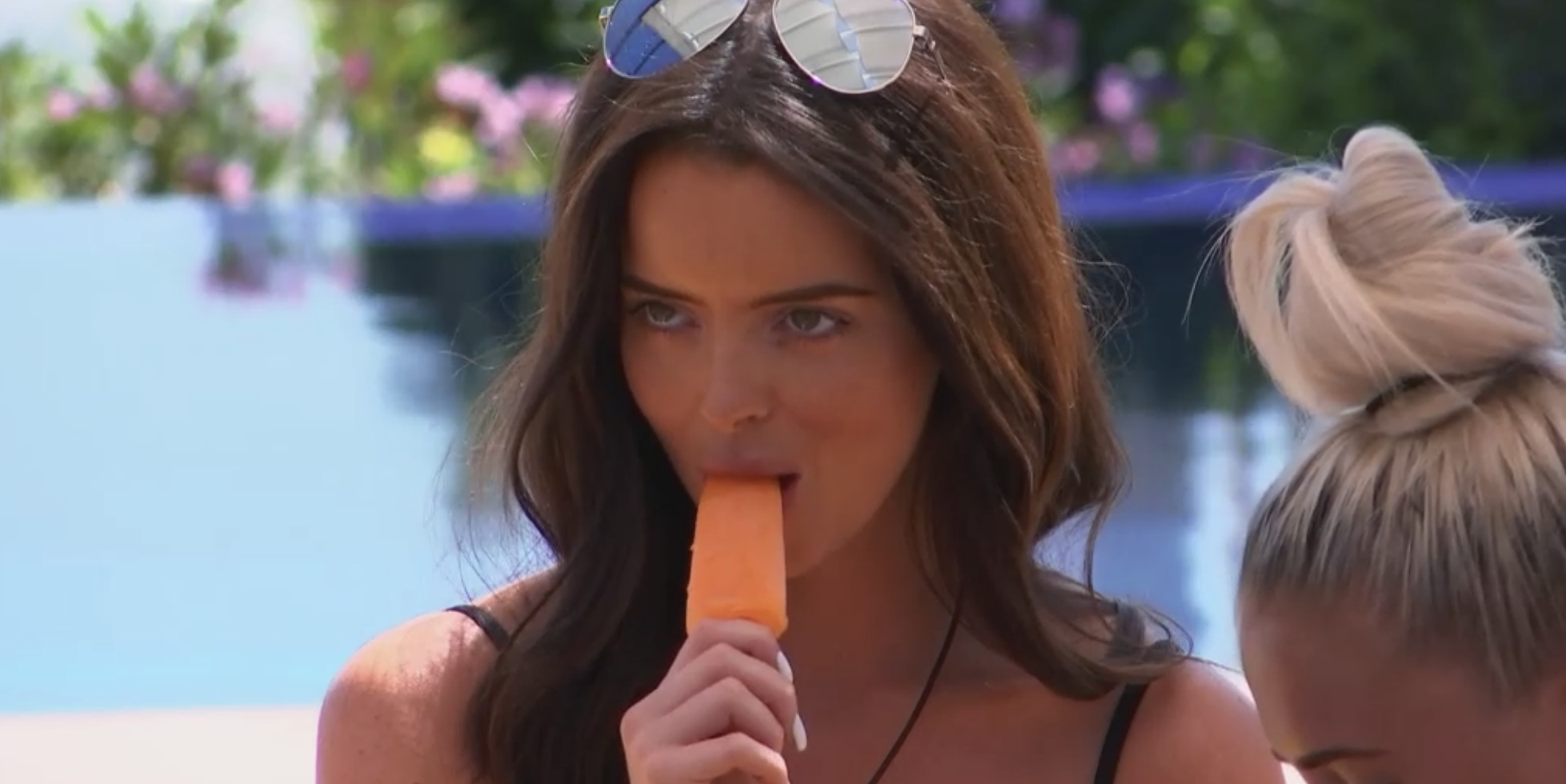 Love Island kiss turns up the heat in 'battle of the brides'