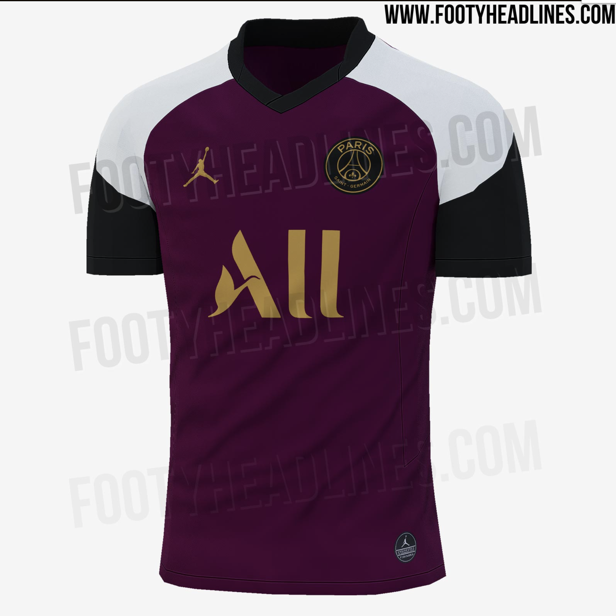 Psg S Gorgeous New Burgundy Third Kit Has Been Leaked Joe Co Uk