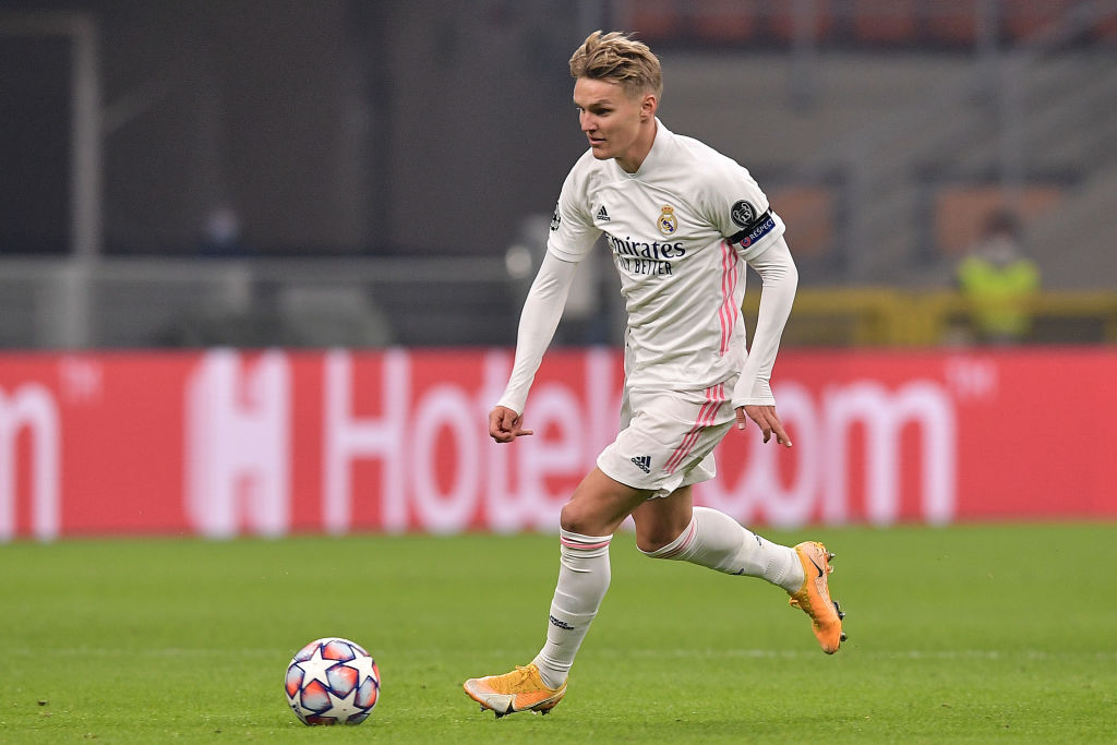 Real Madrid's Odegaard close to Arsenal loan deal