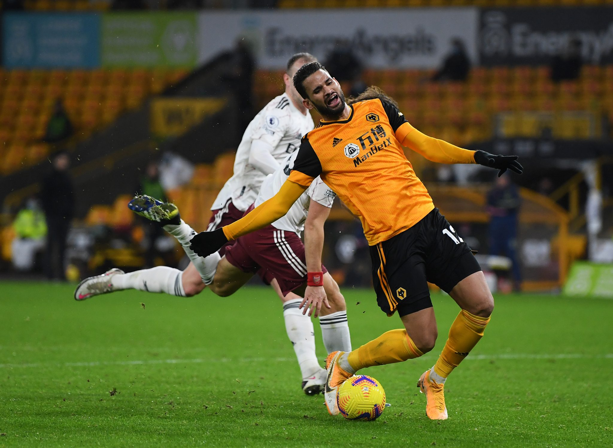 Highlights: Wolves 2-1 Arsenal - Nine-man Gunners self-destruct