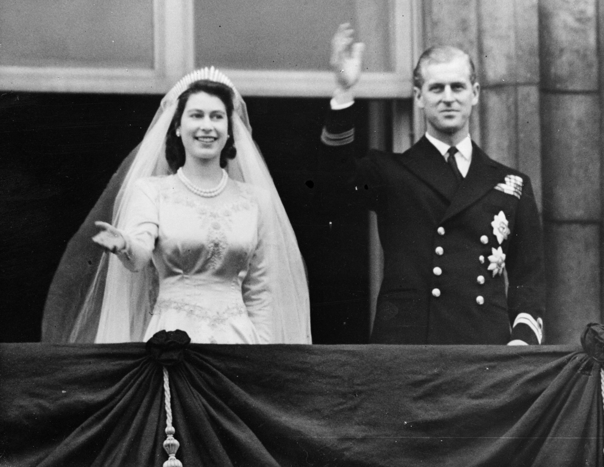 Prince Phillip and the Queen
