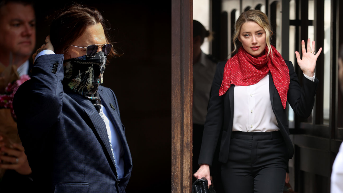Johnny Depp and Amber Heard in court for libel case