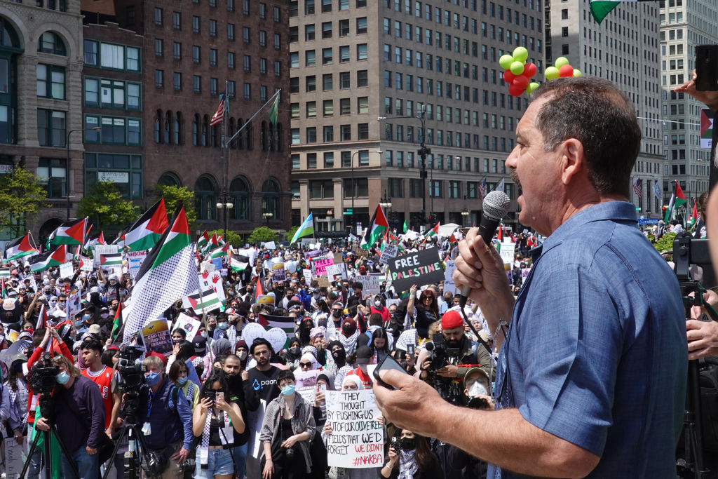 Free Palestine protests in Chicago