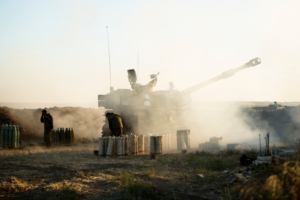 Tanks and artillery continue assault on Gaza