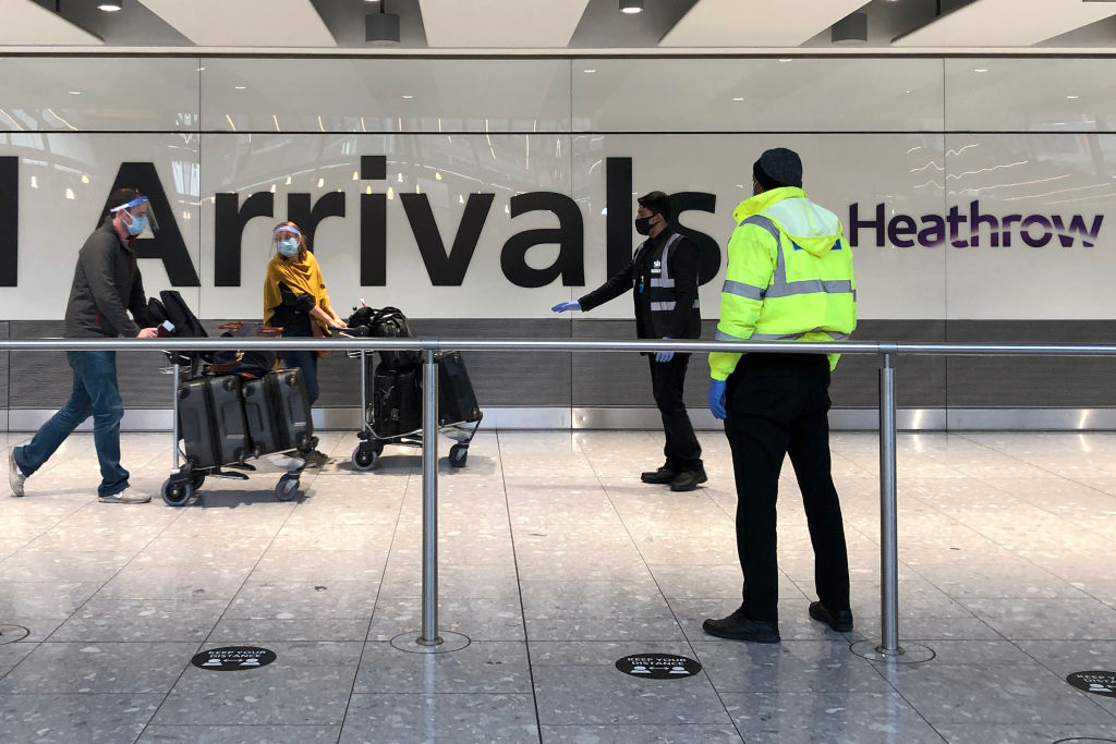 People have landed in the UK from India since it was added to the red list