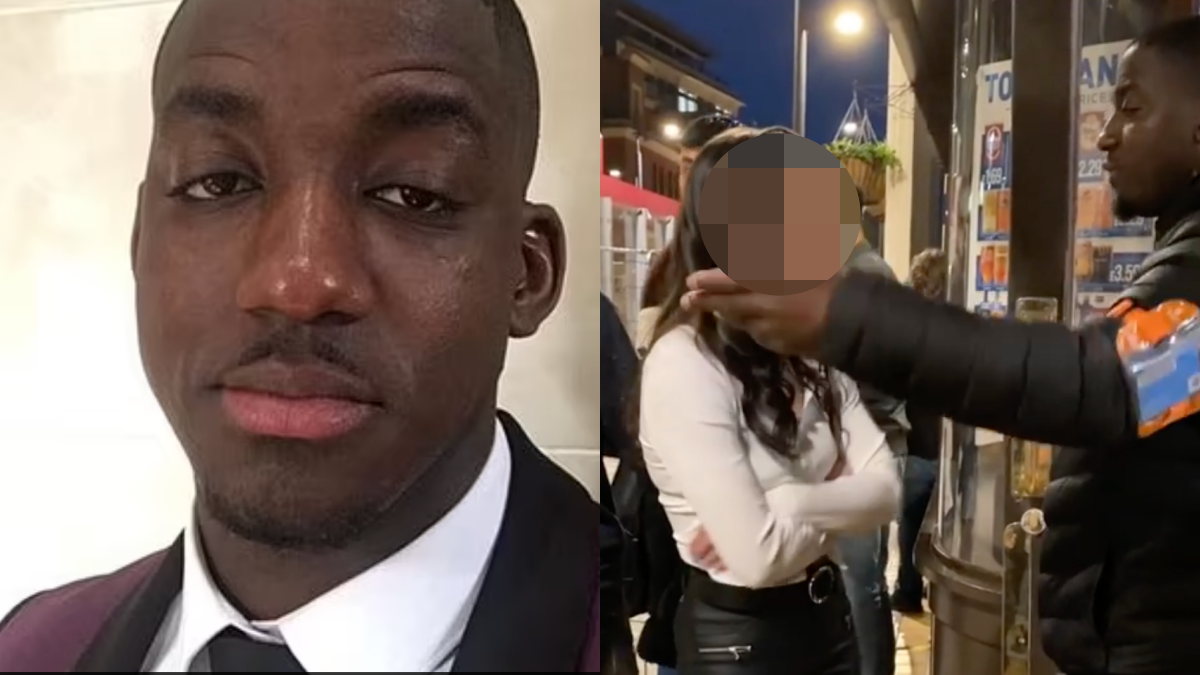 Tristan Price racially abused by woman in Birmingham city centre