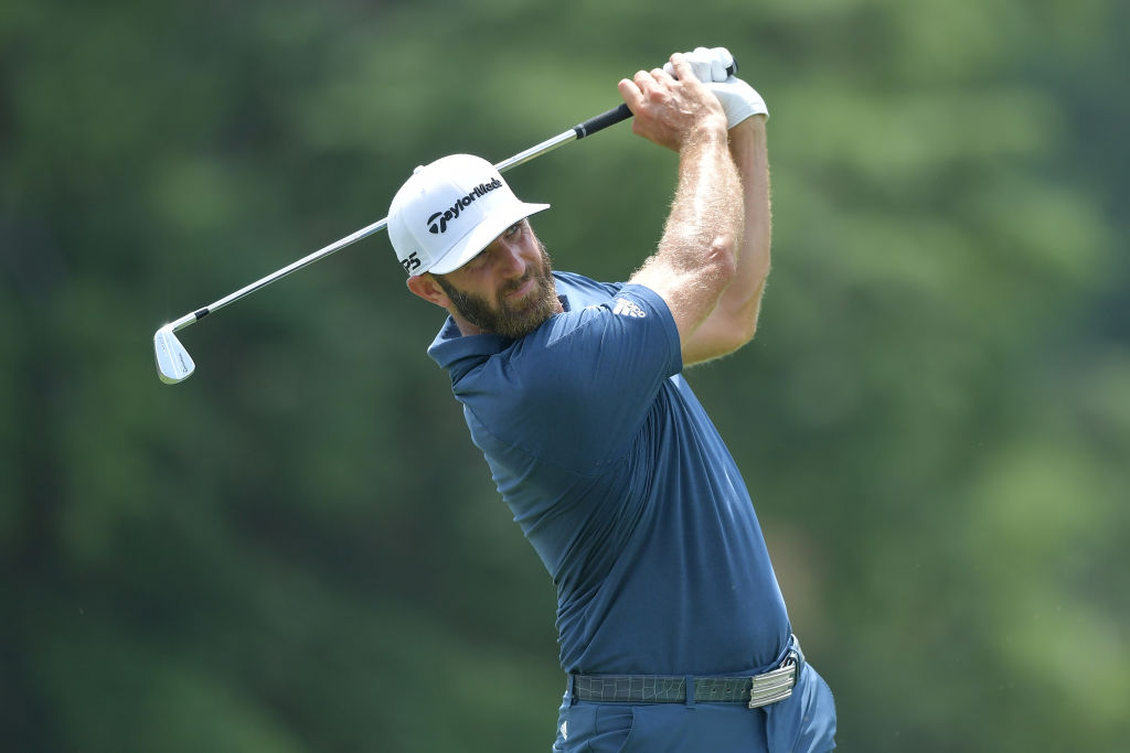 Dustin Johnson withdrew due to a heavily congested season