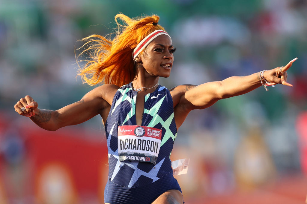 Sha'Carri Richardson was banned after testing positive for cannabis