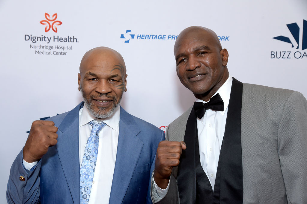 Established rivals Tyson and Holyfield are firm friends these days