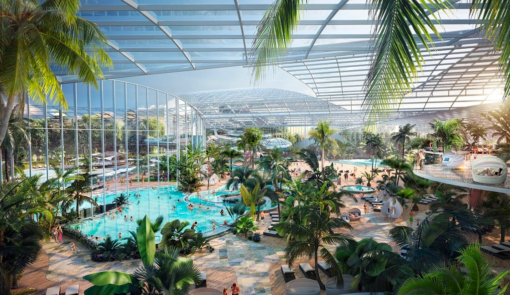Therme Manchester indoor water park, spa and wellbeing resort